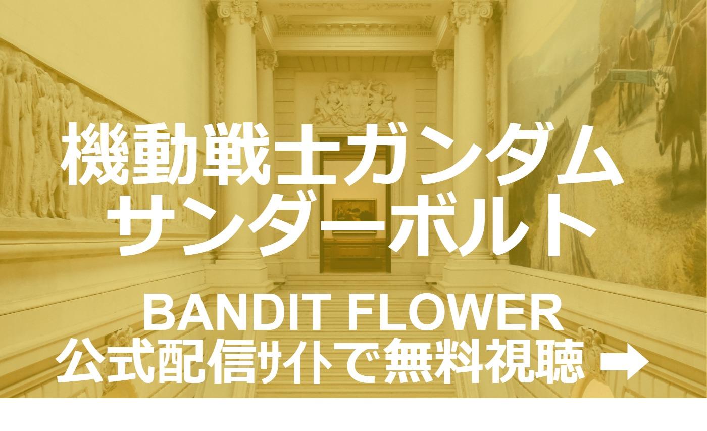 映画『機動戦士ガンダム サンダーボルト BANDIT FLOWER』の高画質フル動画を無料視聴